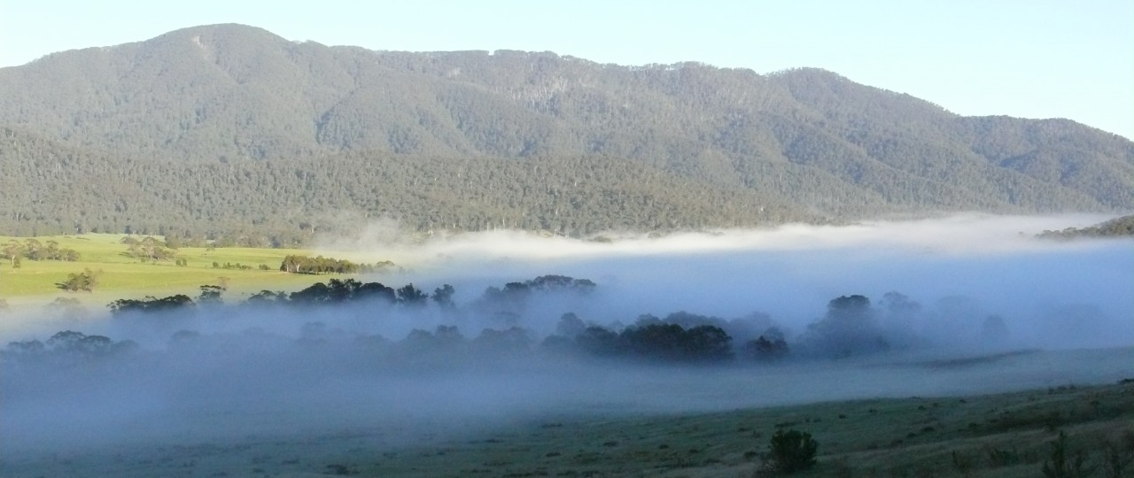 Snowy Mountains Morning Cloud